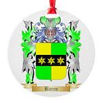 Barne Round Ornament