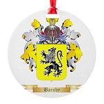 Barnby Round Ornament