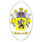 Barnby Sticker (Oval 50 pk)