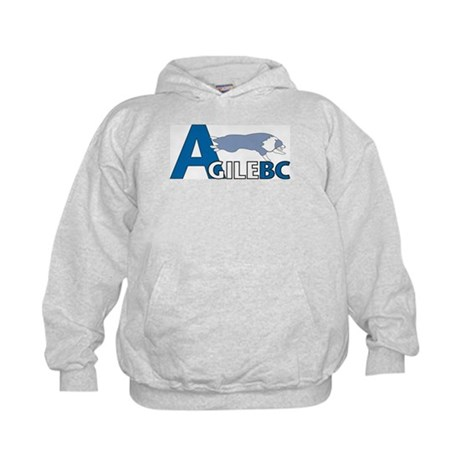 Blue AgileBC Logo Kids Hoodie