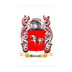 Barnaud Sticker (Rectangle 50 pk)