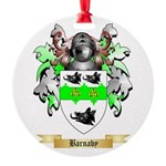 Barnaby Round Ornament
