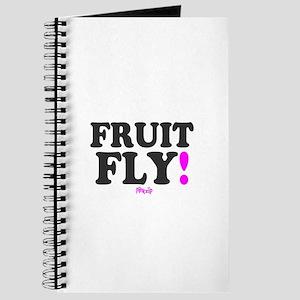 FRUIT FLY - PINK ZIP: - Journal