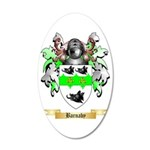 Barnaby 35x21 Oval Wall Decal