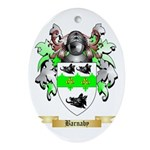 Barnaby Ornament (Oval)