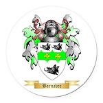 Barnabee Round Car Magnet
