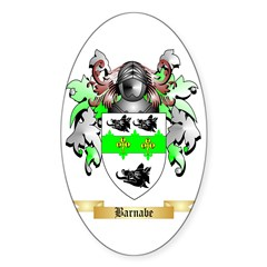 Barnabe Sticker (Oval 50 pk)