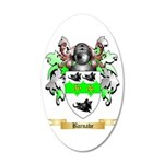 Barnabe 20x12 Oval Wall Decal