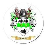 Barnaba Round Car Magnet