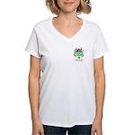 Barna Women's V-Neck T-Shirt