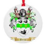Barna Round Ornament