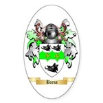 Barna Sticker (Oval)
