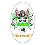 Barna Sticker (Oval 10 pk)