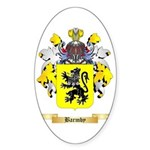 Barmby Sticker (Oval 50 pk)