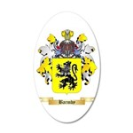 Barmby 20x12 Oval Wall Decal