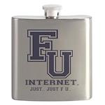 F U Collegiate Internet Flask