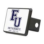 F U Collegiate Internet Hitch Cover