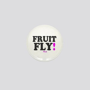 FRUIT FLY - PINK ZIP: - Mini Button