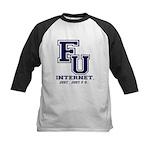F U Collegiate Internet Baseball Jersey