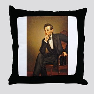 Young Abraham Lincoln Throw Pillow