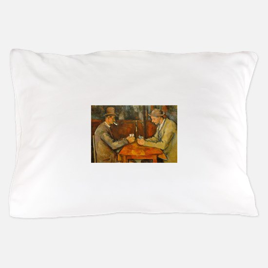 Famous Paintings: The Card Players Pillow Case