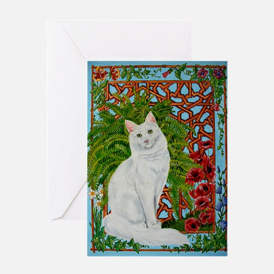 Snowis Garden Greeting Card