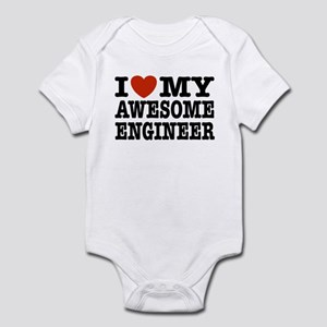 I Love My Awesome Engineer Infant Bodysuit