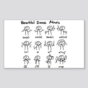 Beautiful (math) dance moves Sticker