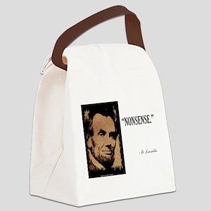 Nonsense Canvas Lunch Bag