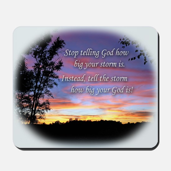 Tell the Storm-Mousepad