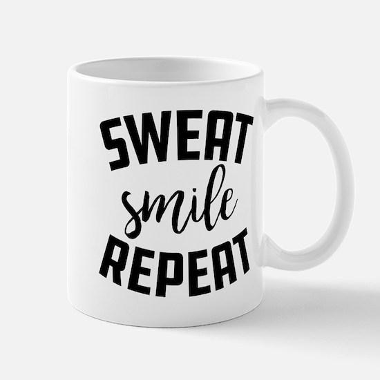 Sweat Smile Repeat Mug