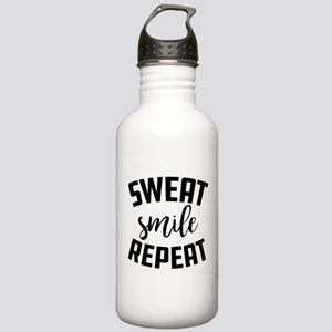 Sweat Smile Repeat Stainless Water Bottle 1.0L