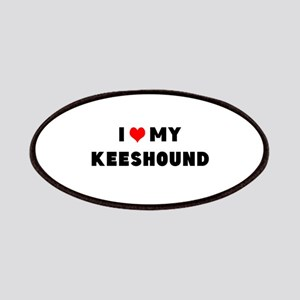 i luv my keeshound Patches