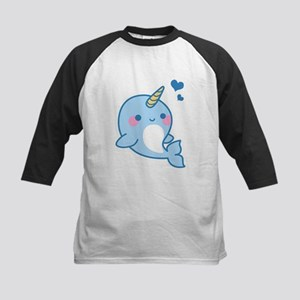 Cute Narwhal T-Shirt Baseball Jersey