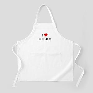 I * Chicago BBQ Apron