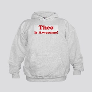 Theo is Awesome Kids Hoodie