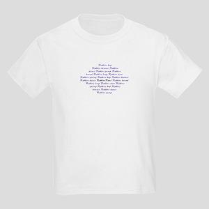 Rabbits Run! Kids T-Shirt