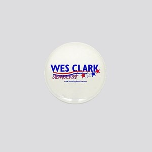 """""""Wes Clark Dem"""" Mini Button"""