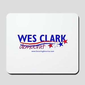 """""""Wes Clark Dem"""" Mousepad"""