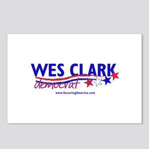 """Wes Clark Dem"" Postcards (Package of 8)"