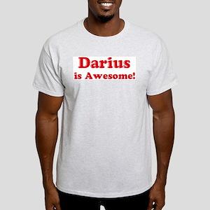 Darius is Awesome Ash Grey T-Shirt