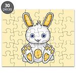 Kawaii Yellow Bunny Puzzle