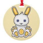 Kawaii Yellow Bunny Ornament
