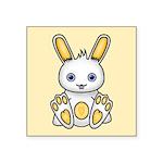 Kawaii Yellow Bunny Sticker