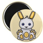 "Kawaii Yellow Bunny 2.25"" Magnet (100 pack)"