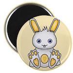 "Kawaii Yellow Bunny 2.25"" Magnet (10 pack)"