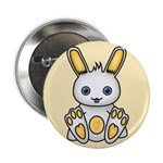 "Kawaii Yellow Bunny 2.25"" Button (10 pack)"