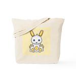 Kawaii Yellow Bunny Tote Bag