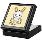 Kawaii Yellow Bunny Keepsake Box
