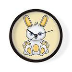 Kawaii Yellow Bunny Wall Clock
